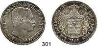 Deutsche Münzen und Medaillen,Sachsen (- Hildburghausen) - Altenburg Ernst 1853 - 1908 Vereinstaler 1858 F, Dresden.  Kahnt 483.  Thun 356.  AKS 61.  Jg. 113.   Dav. 814.