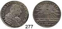 Deutsche Münzen und Medaillen,Sachsen - Gotha - Altenburg Friedrich II. 1691 - 1732 1/8 Reichstaler 1717, Gotha.  3,64 g.  200. Jahrestag der Reformation.   Steguweit 217.  Schön 26.
