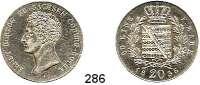 Deutsche Münzen und Medaillen,Sachsen - Coburg und Gotha Ernst I. 1826 - 1844 20 Kreuzer 1836.  AKS 78.  Jg. 261.
