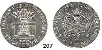 Deutsche Münzen und Medaillen,Hamburg, Stadt Franz II. 1792 - 1806 32 Schilling 1796 O.H.K.  18,16 g.  Gaed. 653  Jaeger 37.