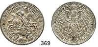 R E I C H S M Ü N Z E N,Preussen, Königreich Wilhelm II. 1888 - 1918 3 Mark 1915.    Mansfeld.