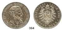 R E I C H S M Ü N Z E N,Preussen, Königreich Friedrich III. 1888 5 Mark 1888.