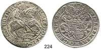 Deutsche Münzen und Medaillen,Mansfeld - Vorderort - Friedeburg Peter Ernst I., Bruno II., Gebhard VIII. und Johann Georg IV. 1587 - 1601 Taler 1595 G-M.  25,27 g.  Tornau 601.  Dav. 9510.