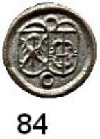 Deutsche Münzen und Medaillen,Brandenburg - Preußen Georg Wilhelm 1619 - 1640 Kipperpfennig o.J., Crossen.  0,19 g.  Bahrfeldt 716 a (C fast geschlossen).
