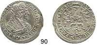 Deutsche Münzen und Medaillen,Brandenburg - Preußen Friedrich Wilhelm der Große Kurfürst 1640 - 1688 18 Gröscher 1680 HS, Königsberg.  6,08 g.  v.S. 1643.