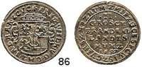 Deutsche Münzen und Medaillen,Brandenburg - Preußen Friedrich Wilhelm der Große Kurfürst 1640 - 1688 II Groschen 1657, Berlin.  3,19 g.  v.S. 987.