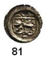 Deutsche Münzen und Medaillen,Brandenburg - Preußen Georg Wilhelm 1619 - 1640 Kipperpfennig o.J., Frankfurt an der Oder.  0,32 g.  Bahrfeldt 689 e..