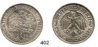 R E I C H S M Ü N Z E N,Weimarer Republik  5 Reichsmark 1932 A.  Eichbaum.