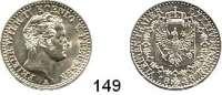 Deutsche Münzen und Medaillen,Preußen, Königreich Friedrich Wilhelm IV. 1840 - 1861 1/6 Taler 1848 A.  AKS 80.  Jg. 72.
