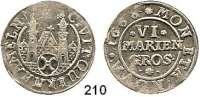 Deutsche Münzen und Medaillen,Hameln, Stadt  VI Mariengroschen 1668.  5,76 g.  Kavelage/Schrock 247 a.