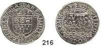 Deutsche Münzen und Medaillen,Köln, Stadt Ferdinand II. 1619 - 1637 8 Albus 1635.  3,57 g.  Noss 368 a.