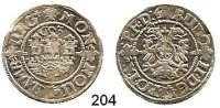 Deutsche Münzen und Medaillen,Hamburg, Stadt Rudolf II. 1576 - 1611 Doppelschilling 1603.  3,37 g.  Gaed. 835.