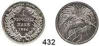 Besetzte Gebiete  -  Kolonien  -  Danzig,Deutsch - Neuguinea  1 Mark 1894 A.
