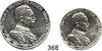 R E I C H S M Ü N Z E N,Preussen, Königreich Wilhelm II. 1888 - 1918 2 und 3 Mark 1913.   Regierungsjubiläum.    LOT 2 Stück.