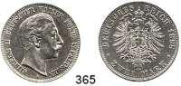 R E I C H S M Ü N Z E N,Preussen, Königreich Wilhelm II. 1888 - 1918 2 Mark 1888.