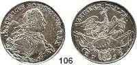 Deutsche Münzen und Medaillen,Preußen, Königreich Friedrich II. der Große 1740 - 1786 1/2 Taler 1752 B, Breslau.  10,95 g.  Kluge 68.  v.S. 193.  Olding 31.