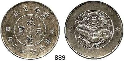 AUSLÄNDISCHE MÜNZEN,China Yunnan Dollar o.J. (1920-1922).   Schön 14.  Y. 258.1.