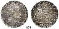 AUSLÄNDISCHE MÜNZEN,Äthiopien Menelik II. 1889 - 1913 Birr 1892 (1899) A, Paris.  Schön 15.  KM 19.