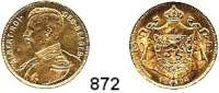 AUSLÄNDISCHE MÜNZEN,Belgien Albert I. 1909  - 1934 20 Francs 1914 FR.  (5,8g fein).  Schön 43.  KM 78.  Fb. 421.  GOLD