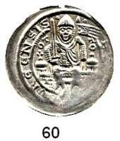 Deutsche Münzen und Medaillen,Brandenburg - Preußen Otto I. 1170 - 1184 Brakteat.  0,97 g.  Markgraf mit Schwert und Fahne sitzt von vorn auf Mauer zwischen zwei Türmen.  Bahrfeldt 39.  Slg. Bonhoff 792.
