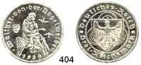 R E I C H S M Ü N Z E N,Weimarer Republik  3 Reichsmark 1930 A      Vogelweide.