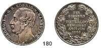 Deutsche Münzen und Medaillen,Braunschweig - Calenberg (Hannover) Georg V. 1851 - 1866 Vereinstaler 1865 B.  Waterloo.  Kahnt 240.  Thun 176.  AKS 160.  Jg. 98.  Dav. 684.