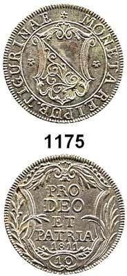 AUSLÄNDISCHE MÜNZEN,Schweiz Zürich, Stadt 10 Schiling 1811.  HMZ 2-1176.  Kahnt/Schön 5.  KM 182.