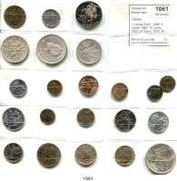 AUSLÄNDISCHE MÜNZEN,Litauen L O T S    L O T S    L O T S 1 Centas 1925, 1936; 5 Centai 1925; 10 Centu 1925; 20 Centu 1925, 50 Centu 1925; 1 Litas 1925; 2 Litu 1925; 5 Litai 1925, 1936; 10 Litu 1936, 1938, 1994