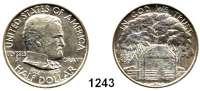 AUSLÄNDISCHE MÜNZEN,U S A  Gedenk Half Dollar 1922.  100. Geburtstag von Ulysses S. Grant.  Schön 155.1.  KM 151.1.
