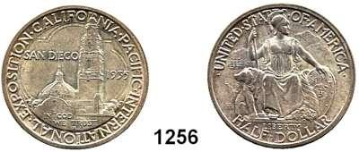 AUSLÄNDISCHE MÜNZEN,U S A  Gedenk Half Dollar 1935 S.  San Diego.  Schön 176.  KM 171.