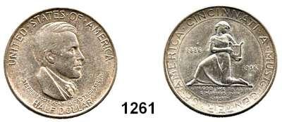 AUSLÄNDISCHE MÜNZEN,U S A  Gedenk Half Dollar 1936 D.  Cincinnati Music Center.  Schön 181.  KM 176.
