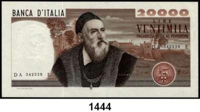 P A P I E R G E L D,AUSLÄNDISCHES  PAPIERGELD Italien 20.000 Lire 21.2.1975.  Pick 104.