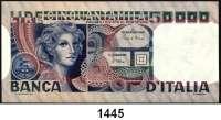 P A P I E R G E L D,AUSLÄNDISCHES  PAPIERGELD Italien 50.000 Lire 11.4.1980.  Pick 107 c.