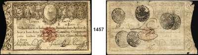 P A P I E R G E L D,AUSLÄNDISCHES  PAPIERGELD Portugal LOT von 12 verschiedenen Banknoten.  Von 10.000 Reis 1826 bis 500 Escudos 1997.  Dabei u.a. Pick 28A a, 41.