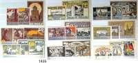 P A P I E R G E L D   -   N O T G E L D,L O T S    L O T S    L O T S  REUTERGELD.  Komplette Sammlung von 210 Scheinen.  Von ALT GAARZ bis ZARRENTIN.  In einem Album.
