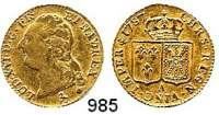 AUSLÄNDISCHE MÜNZEN,Frankreich Ludwig XVI. 1774 - 1793 Louis d`or 1787 A, Paris.  7,65 g.  KM 591.1.  Fb. 475.  GOLD