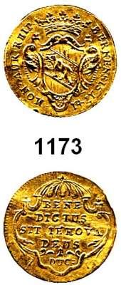 AUSLÄNDISCHE MÜNZEN,Schweiz Bern, Stadt Dukat 1741.  3,39 g. HMZ 2-215 d.  KM 103.  Fb. 172.  GOLD