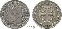 AUSLÄNDISCHE MÜNZEN,Portugal Maria I. 1786 - 1799 400 Reis 1797.  KM 288.