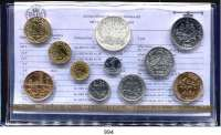 AUSLÄNDISCHE MÜNZEN,Frankreich 5. Republik seit 1958 Kurssatz 1982. (11 Werte. Centime bis 100 Francs)  KM SS 19.