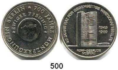 Deutsche Demokratische Republik,L O T S      L O T S      L O T S  10 Mark 1981