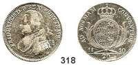 Deutsche Münzen und Medaillen,Württemberg, Königreich Friedrich I. (1797) 1806 - 1816 20 Kreuzer 1810.  AKS 43.  Jg. 11.
