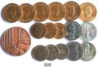 Deutsche Demokratische Republik,M E D A I L L E N  LOT von 17 Medaillen.  6 Medaillen der Bezirksleitung Halle (40 mm); Nickelmedaille