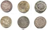 Deutsche Münzen und Medaillen,Preußen, Königreich Friedrich Wilhelm III. 1797 - 1840 Taler 1814 A(3), 1815 B; 1818 A(2).  LOT 6 Stück.