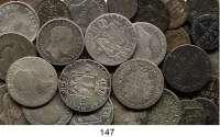 Deutsche Münzen und Medaillen,Preußen, Königreich Friedrich Wilhelm III. 1797 - 1840 LOT von 39 Kleinmünzen von 1 Pfennig bis 1/6 Taler.