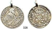 Deutsche Münzen und Medaillen,Würzburg, Bistum Schwedische Besetzung 1631 - 1634 1/2 Taler 1631.  15,11 g.  AAJ 10.