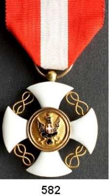 Orden, Ehrenzeichen, Militaria, Zeitgeschichte,Ausland Italien Ritterkreuz vom Kronenorden in Gold.