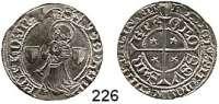Deutsche Münzen und Medaillen,Metz, Stadt  Groschen o.J.  2,78 g.  Schulten 2187.