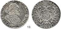 Römisch Deutsches Reich,Haus Habsburg Ferdinand III. 1637 - 1657 Taler 1656 K-B, Kremnitz.  28,16 g.  Herinek 484.  Voglh. 197.  Dav. 3198.