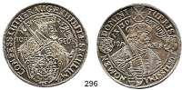 Deutsche Münzen und Medaillen,Sachsen Johann Georg I. 1611 - 1656 Taler 1630, Dresden.  29,20 g. 100 Jahrfeier der Augsburger Konfession.  Clauss/Kahnt 323 b.  Dav. 7606.