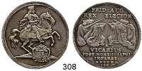 Deutsche Münzen und Medaillen,Sachsen Friedrich August I. 1694 - 1733 1/2 Taler 1711 ILH, Dresden.  14,55 g.  Auf das Vikariat.  Kahnt 284.  Slg. Mb. 1491.  Kohl 441.